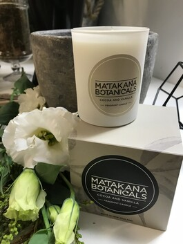 Cocoa And Vanilla Candle
