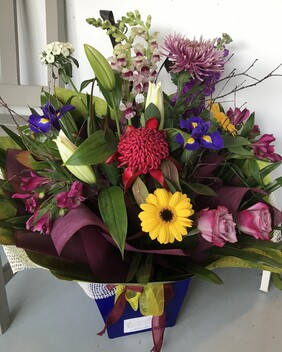 Water Box Bouquet -